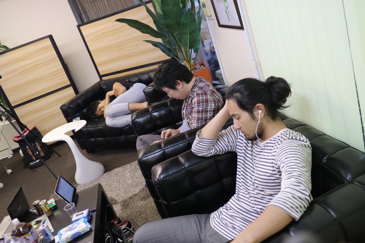 不眠不休の強化合宿